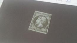 LOT 240592 TIMBRE DE FRANCE OBLITERE N�11 VALEUR 100 EUROS