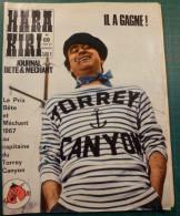 Hara Kiri N° 69 Mai 1967 -  Le Journal Bête Et Méchant - Bon état - Humor