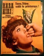 Hara Kiri N° 63 Mai 1966 -  Le Journal Bête Et Méchant -   Bon état - Humour