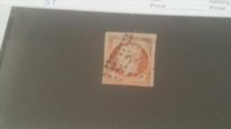 LOT 240603 TIMBRE DE FRANCE OBLITERE N�16b VALEUR 35 EUROS
