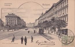 HONGRIE / BUDAPEST - JÖZSEF-KÖRUT - Animation - Hongrie