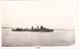 Batiment Militaire Marine Chili Aldea   Signee Nautical Photo Agency - Boats