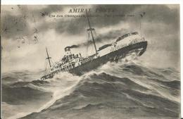 BATEAUX - PAQUEBOT - AMIRAL PONTY - Steamers