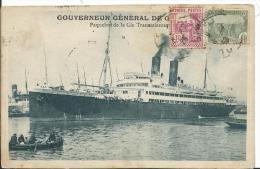 BATEAUX - PAQUEBOT - GOUVERNEUR GENERAL - Dampfer