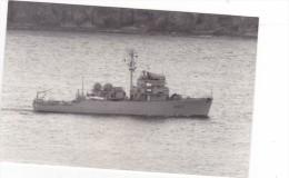 Batiment Militaire Marine Francaise Dragueur AM 612 Alencon Signee Martinelli - Boats