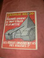 CHARLIE HEBDO 1980   N° 512  COUVERTURE  URSS COMMUNISTE  /   CABU /  WOLINSKI /  REISER / GEBE ETC ... - Magazines Et Périodiques