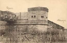 Dept Div -haut  Rhin -ref Z 521- Tete Du Pont Du Chemin De Fer Sur Le Rhin A Vieux Brisach -fevrier 1919 - - Frankreich