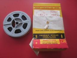 Vacances Bretagne Normanie Orly France Bobine Film Amateur sc�ne localis�e Kodak 8 mm cin�matographie envoi postal EMA