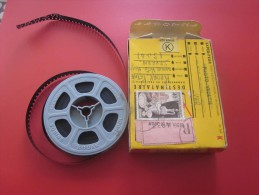 PATINETTE LAPIN  1956 Bobine Film Amateur sc�ne localis�e Kodak 8 mm cin�matographie envoi postal EMA