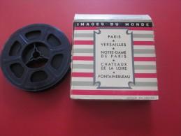 1956 > PARIS -VERSAILLES -CHATEAUX DE LA LOIRE -FONTAINEBLEAU Images du monde  Bobine Film Kodak 8 mm cin�matographique