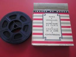 1956>N.D. DE PARIS-VERSAILLES-CHATEAUX LOIRE-FONTAINEBLEAU-Image s du monde  Bobine Film  Kodak 8 mm cin�matographique