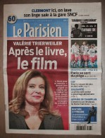 JOURNAL LE PARISIEN DU 6 JANVIER 2015 - VALÉRIE TRIERWEILER APRES LE LIVRE LE FILM - - Journaux - Quotidiens