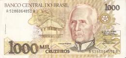 BILLETE DE BRASIL DE 1000 CRUZEIROS DEL AÑO 1990  (BANKNOTE) - Brasil