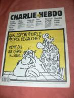 CHARLIE HEBDO 1993   N° 40    COUVERTURE LA GAUCHE  / CHARB /  CABU /  WOLINSKI / SINE /  REISER / GEBE ETC ... - Magazines Et Périodiques