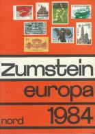 Z--050- CAT. ZUMSTEIN, EDITION. 1984 = INTEGRALE De L'EUROPE , TBE, A Saisir , - Suiza