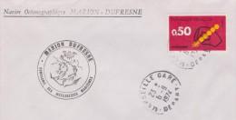 MARION DUFRESNE+ Marseille Gare - Marcophilie (Lettres)