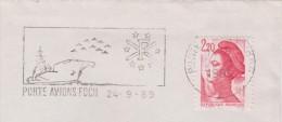 PORTE AVIONS FOCH - Marcophilie (Lettres)