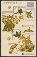 Korea South MNH Scott #1467 Souvenir Sheet Of 6 Butterflies - AMERIPEX '86 - Corée Du Sud