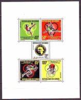 CONGO  -  AFRICA GAMES - FOOTBALL - HANDBALL - CYCLING - MNH ** - 1965 - Ciclismo