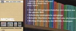 MlCHEL Katalog 2015 Jahrgangs-Werttabellen Neu 20€ Wert An Briefmarken Der Welt 300 Länder Stamps Catalogue Of The World - Literatur