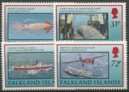 Falkland 1993 Fischerei 588/91 Postfrisch - Falkland Islands