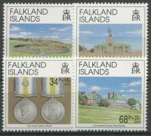 Falkland 1992 10. Jahrestag Der Befreiung Der Falkland-Inseln 561/64 Postfrisch - Falklandeilanden