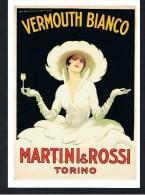 C.P.-  PUBLICITE - VERMOUTH BIANCO MARTINI & ROSSI - (M. DUDOVICH) -  S D A C - - Advertising