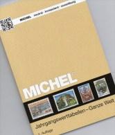 Jahrgangswert-Tabellen MlCHEL Katalog 2015 New 20€ Wert An Briefmarken Der Welt 300 Country Stamp Catalogue Of The World - Zubehör
