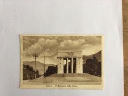 BOLZANO. IL MONUMENTO DELLA VITTORIA VIAGGIATA F.P. 1937 - Bolzano (Bozen)