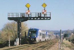 JOUE LES TOURS 37 ( TRAIN LIGNE TOURS CHINON ) SUPERBE PLAN ! ! ! - Autres Communes