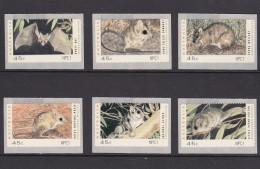 Australia 1993 Counter Printed Stamps Set Self-Adhesive MNH - 1990-99 Elizabeth II