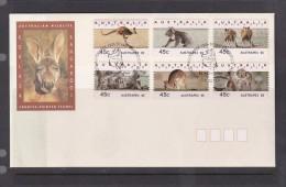 Australia 1995 Koalas And Kangaroos Counter-printed Stamps, Austrapex'95, FDC - FDC
