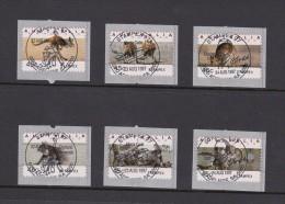 Australia 1997 Koalas And Kangaroos Counter-printed Stamps, Stampex'97, Used Set - Gebraucht