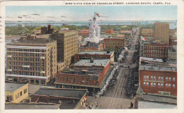 Florida Tampa Birds Eye View Of Franklin Street Looking South 1928 Curteich