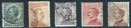 1917-20 LEONI MICHETTI N.108/112 USATI  - VERY FINE USED - Usati