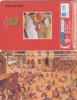 GREECE - Der Kinderspielen By Pieter Bruegel/BENAKI Museum(18 Euro), Tirage 50000, 12/03, Used - Greece