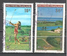 Polynesie: Yvert N° 94/5°; Golf - Polynésie Française