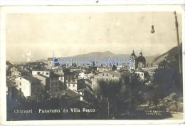 355 ITALY CHIAVARI GENOVA PANORAMA DA VILLA ROCCA CARTOLINA POSTAL POSTCARD - Genova (Genua)