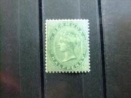 BERMUDA - BERMUDES - VICTORIA - 1884 - Yvert Nº 17 * MH - Bermuda