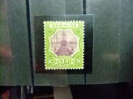 BERMUDA - BERMUDES - CALE SÉCHE - 1902 - Yvert Nº 27 * MH - Bermudas