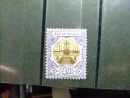 BERMUDA - BERMUDES - CALE SÉCHE - 1906 - Yvert Nº 29 * MH - Bermudas