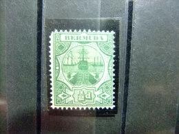 BERMUDA - BERMUDES - CALE SÉCHE - 1906 - Yvert Nº 31 * MH - Bermudas