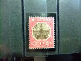 BERMUDA - BERMUDES - CALE SÉCHE - 1906 - Yvert Nº 32 * MH - Bermudas