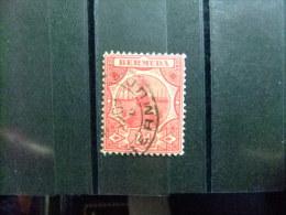 BERMUDA - BERMUDES - CALE SÉCHE - 1906 - Yvert Nº 33 º FU - Bermudas