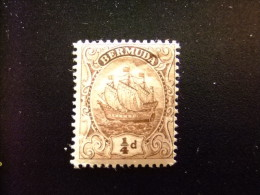 BERMUDA - BERMUDES - GRAND VOILIER - 1910 - Yvert Nº 38 * MH - Bermudas