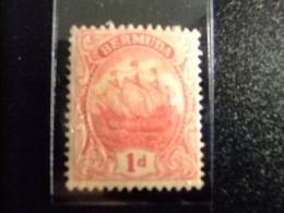 BERMUDA - BERMUDES - GRAND VOILIER - 1910 - Yvert Nº 40 * MH - Bermudas