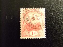 BERMUDA - BERMUDES - GRAND VOILIER - 1910 - Yvert Nº 40 º FU - Bermudas