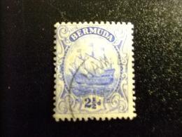 BERMUDA - BERMUDES - GRAND VOILIER - 1910 - Yvert Nº 42 º FU - Bermudas