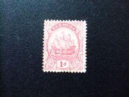 BERMUDA - BERMUDES - GRAND VOILIER   - 1922 - Yvert Nº 75 º FU - Bermudas