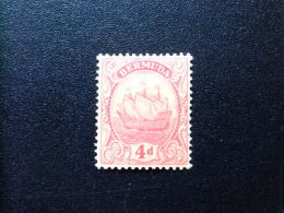 BERMUDA - BERMUDES - GRAND VOILIER   - 1922 - Yvert Nº 81 * MH - Bermudas